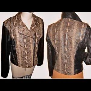 Harley Davidson 'Python' Edition XL leather jacket